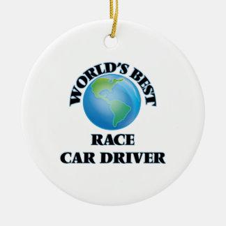 World's Best Race Car Driver Ornaments