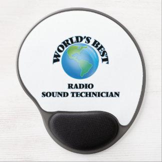 World's Best Radio Sound Technician Gel Mouse Pad