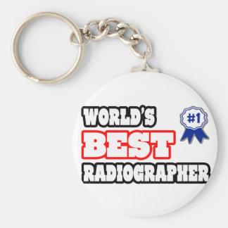 World's Best Radiographer Keychain