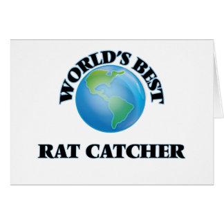 World's Best Rat Catcher Greeting Cards