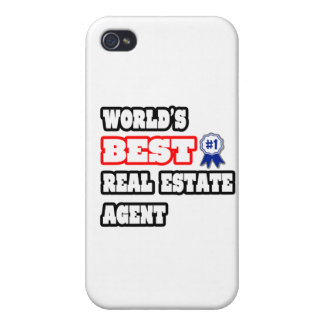 World's Best Real Estate Agent Case For iPhone 4