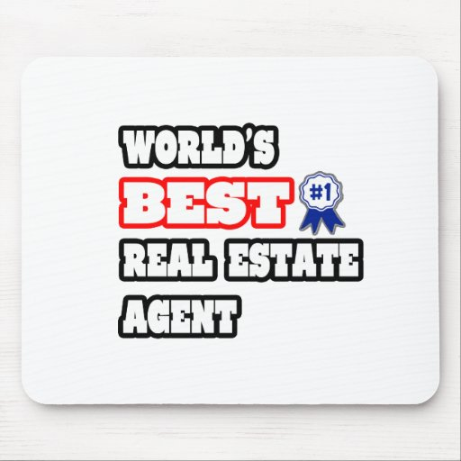 World's Best Real Estate Agent Mouse Pad