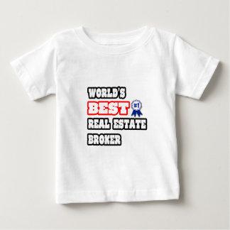 World's Best Real Estate Broker Baby T-Shirt