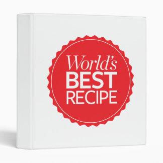 World's Best Recipe Binder