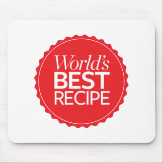 World's Best Recipe Mouse Pad