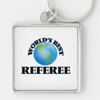 World's Best Referee Key Chains