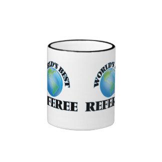 World's Best Referee Ringer Mug