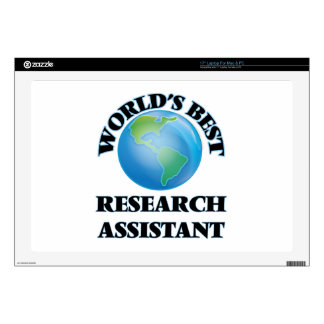 World's Best Research Assistant Decal For Laptop