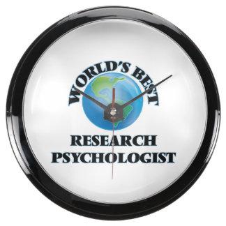 World's Best Research Psychologist Aquavista Clock