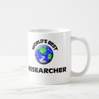 World's Best Researcher Classic White Coffee Mug