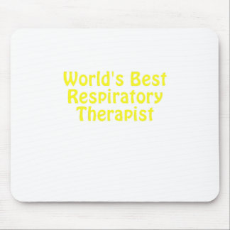 Worlds Best Respiratory Therapist Mouse Pad