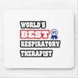 World's Best Respiratory Therapist Mouse Pad