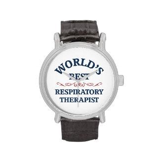 World's best respiratory therapist wrist watches