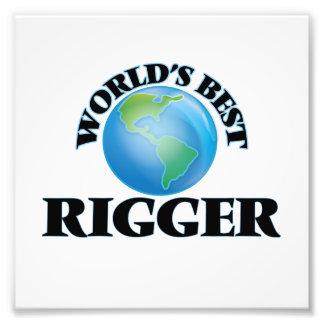 World's Best Rigger Photographic Print