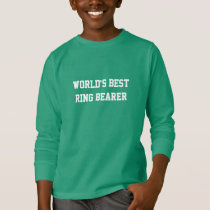 World's Best Ring Bearer T-Shirt