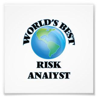 World's Best Risk Analyst Photo Print
