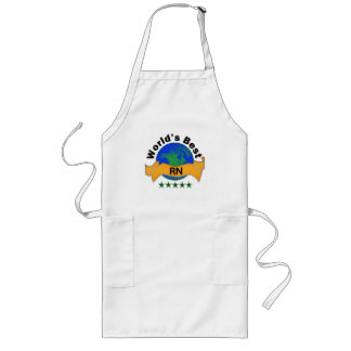 World's Best RN Long Apron