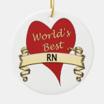 World's Best RN Ornaments