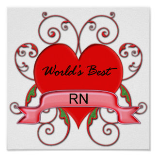 World's Best RN Poster