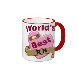 World's Best RN Ringer Coffee Mug