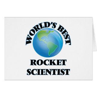 World's Best Rocket Scientist Greeting Cards