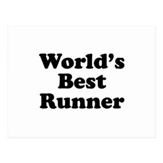 World's Best Runner Postcard