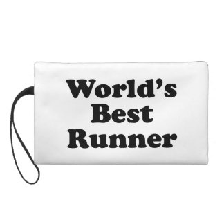 World's Best Runner Wristlet