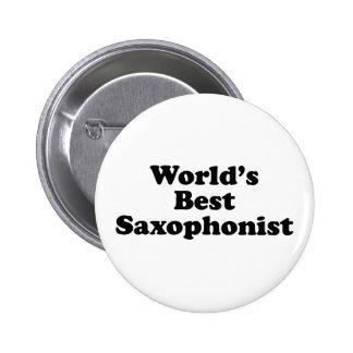 World's Best saxophonist Buttons