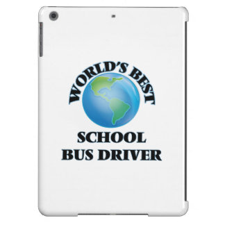 World's Best School Bus Driver Case For iPad Air