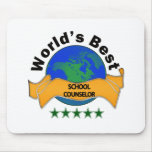 World's Best School Counselor Mouse Pads