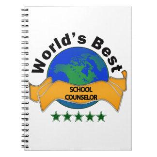 World's Best School Counselor Notebook