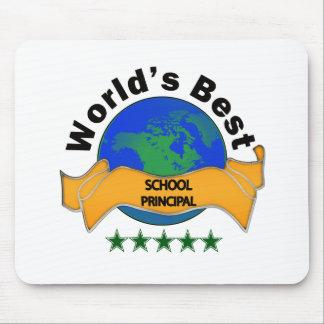 World's Best School Principal Mouse Pad