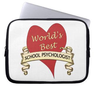 World's Best School Psychologist Laptop Sleeve