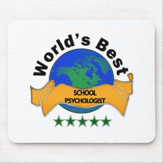 World's Best School Psychologist Mousepad