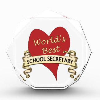 World's Best School Secretary Award