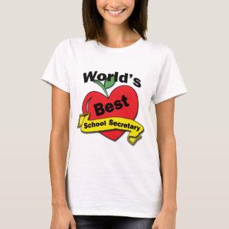 World's Best School Secretary T-Shirt