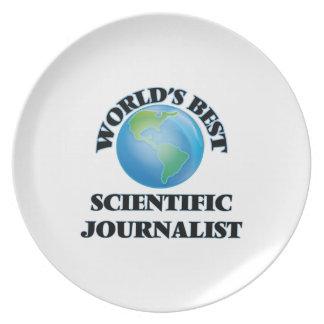 World's Best Scientific Journalist Dinner Plates
