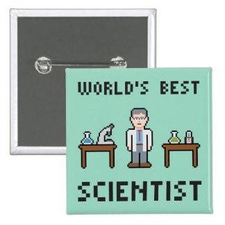 World's Best Scientist Button