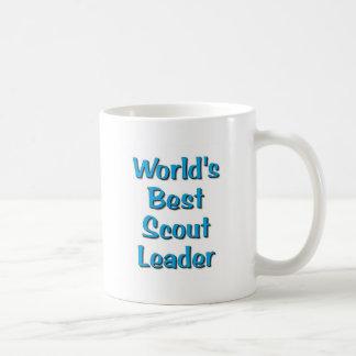 World's best Scout Leader merchandise Classic White Coffee Mug
