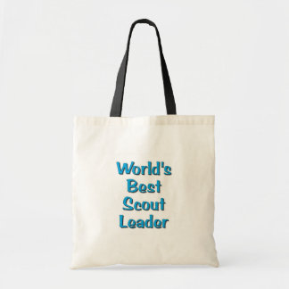World's best Scout Leader merchandise Tote Bag