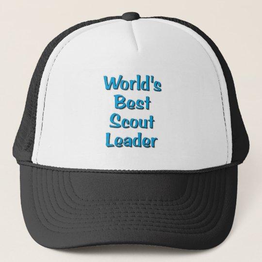World's best Scout Leader merchandise Trucker Hat