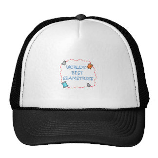 World's Best Seamstress Trucker Hat