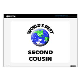 World's Best Second Cousin Acer Chromebook Skins