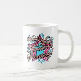 Worlds Best Secretary Classic White Coffee Mug