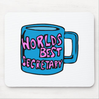 Worlds Best Secretary Mouse Mats