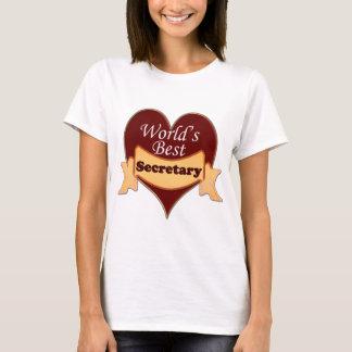 World's Best Secretary T-Shirt