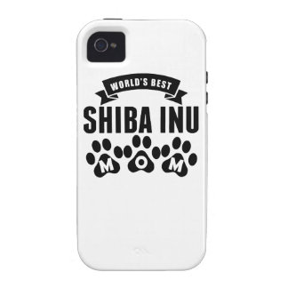 World's Best Shiba Inu Mom iPhone 4/4S Cover