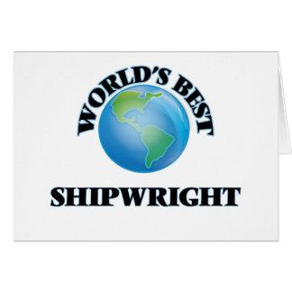 World's Best Shipwright Cards