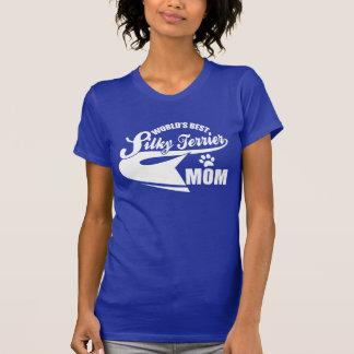 World's Best Silky Terrier Mom Shirts