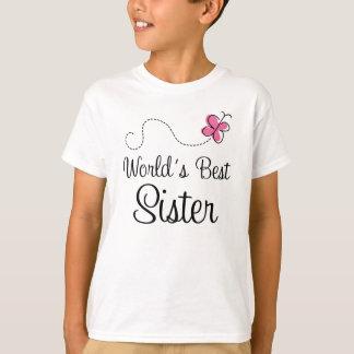 Worlds Best Sister Cute Girls T-shirt
